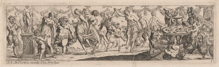 Dancing Nymphs and Satyrs