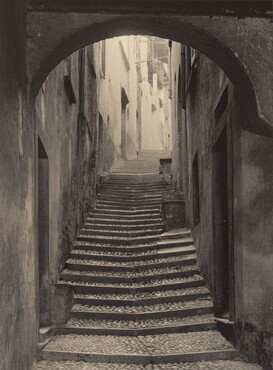 image: A Street in Bellagio