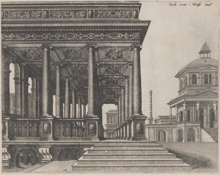 A Hall with Ionic Columns
