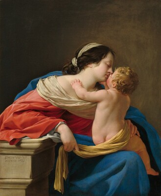 Simon Vouet, Madonna and Child, 16331633