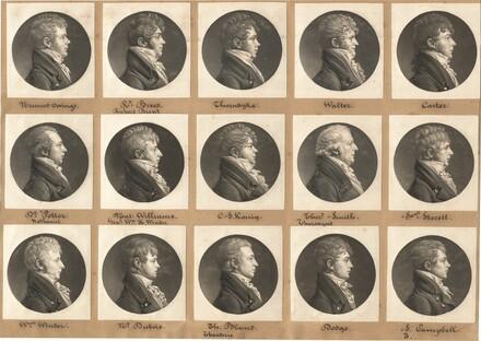 Saint-Mémin Collection of Portraits, Group 27