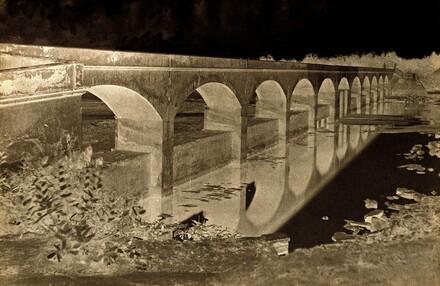 Bridge near Collector's House, Shungavellor, India