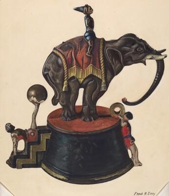 Toy Bank: Elephant