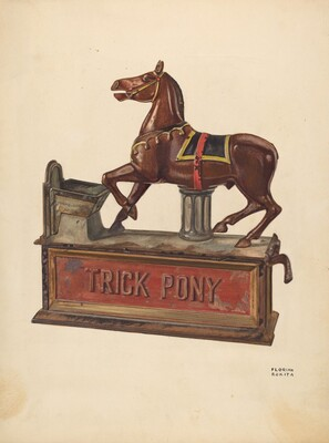 Toy Bank: Trick pony