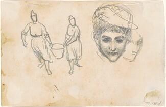 Studies of Peasants [verso]