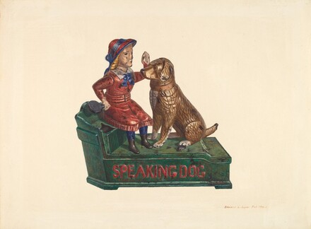 Toy Bank: Speaking Dog