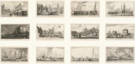 Verscheÿde Schepen en Gesichten van Amstelredam (Various Ships and Views of Amsterdam): Part III
