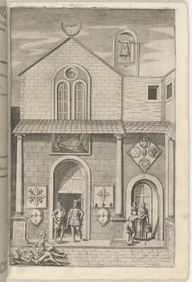 Façade of the Minor Church (Facciata della chiesa minore) [plate E]
