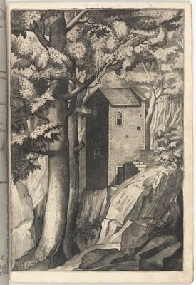 Exterior View of the Chapel of the Cardinal (Veduta esterna della cappella del cardinale)