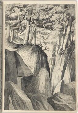 The Prominent Rock (Sasso spicco) [plate I]