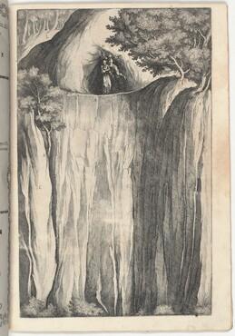 The Temptation of Saint Francis (Tentazione di San Francesco) [plate O]