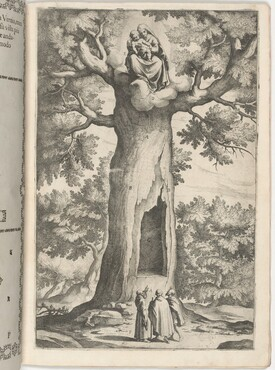 Apparition of the Virgin in the Beech Tree (Faggio dell'apparizione della Vergine) [plate P]