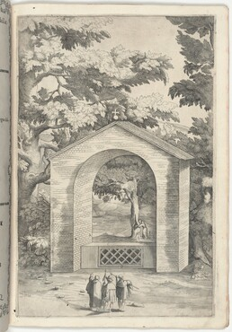 Chapel of the Spring in the Beech Tree (Cappella del faggio dell'acqua) [plate Q]