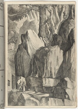 The Site of the Bed and Oratory of Saint Francis (Luogo del 'letto' e dell'oratorio di San Francesco) [plate R]