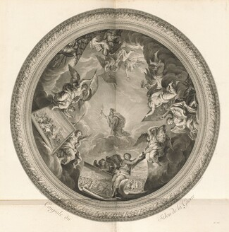 Coupole du Salon de la Guerre (Cupola of the Salon of War) [pl. 35]