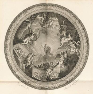 Coupole du Salon de la Guerre (Cupola of the Salon of War) [pl. 35]