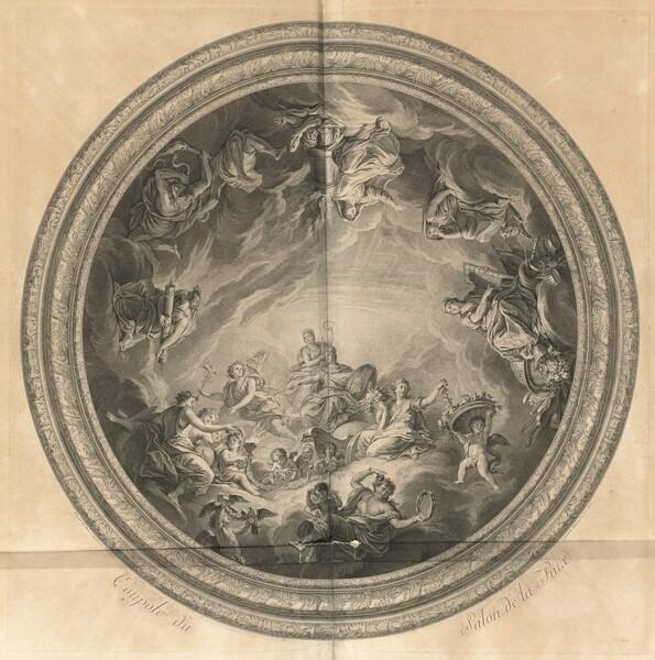 Coupole du Salon de la Paix (Cupola of the Salon of Peace) [pl. 44]
