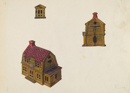 Tiled Roof House Bank