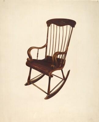 Rocking Chair: Bishop Hill