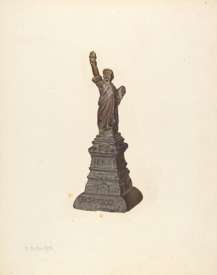 Penny Bank: Statue of Liberty