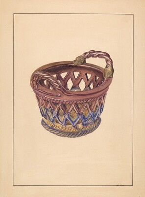 Pottery Basket