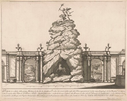 The Prima Macchina for the Chinea of 1726: Hercules and the Hydra