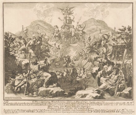 The Seconda Macchina for the Chinea of 1738: The Triumph of Bacchus and Ceres