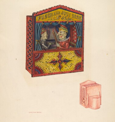 Mechanical Bank: Punch and Judy
