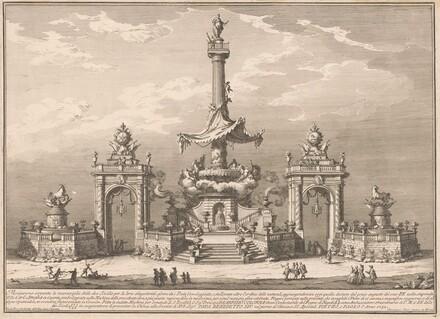 The Seconda Macchina for the Chinea of 1752: The Banquet of the Gods in Villa Carl'Amalia in Caserta