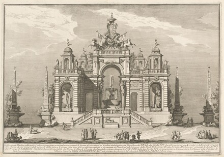 The Seconda Macchina for the Chinea of 1754: An Allegory of Waterworks
