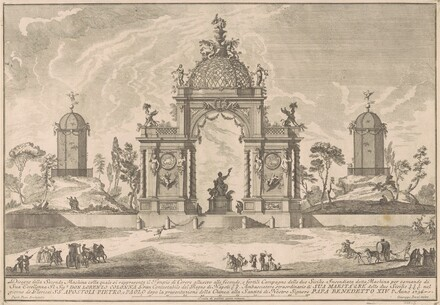 The Seconda Macchina for the Chinea of 1756: The Temple of Ceres