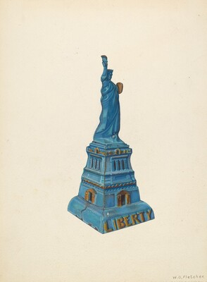 Bank: Statue of Liberty