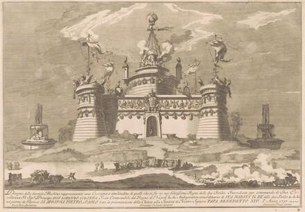 The Seconda Macchina for the Chinea of 1757: The Fortress of Cockaigne