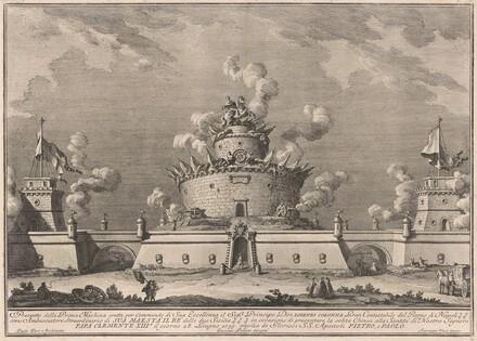 The Prima Macchina for the Chinea of 1759: A Fortress