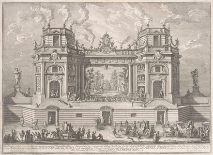 The Seconda Macchina for the Chinea of 1761: A Magnificent Theater