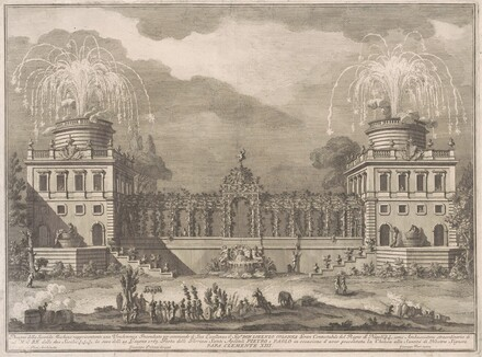 The Seconda Macchina for the Chinea of 1763: The Grape Harvest