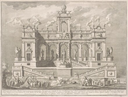 The Prima Macchina for the Chinea of 1764: A Capitol Building
