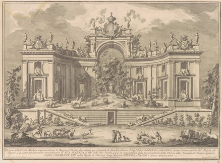 The Prima Macchina for the Chinea of 1766: The Palace of Orpheus