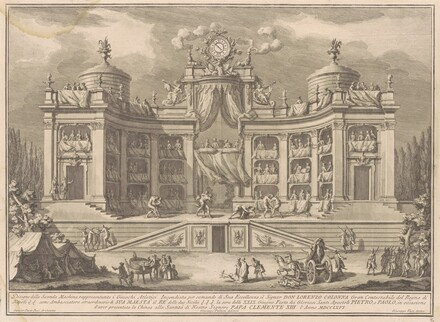 The Seconda Macchina for the Chinea of 1766: A Theater for Athletic Games