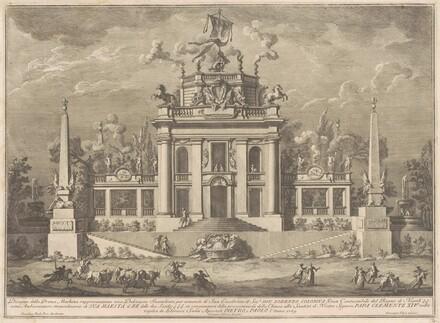 The Prima Macchina for the Chinea of 1769: A Deliziosa