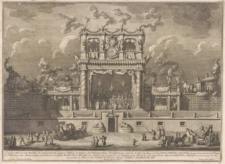 The Seconda Macchina for the Chinea of 1769: A Building for Public Entertainment