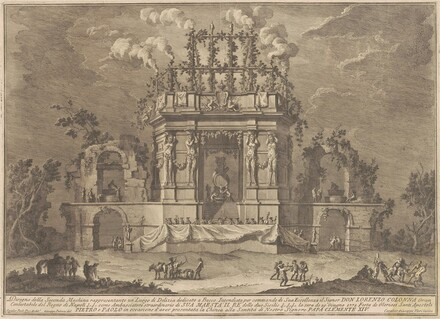 The Seconda Macchina for the Chinea of 1771: A Pleasure Palace Dedicated to Bacchus