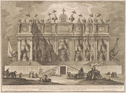 The Prima Macchina for the Chinea of 1772: A Building Dedicated to Chinese Philosophy