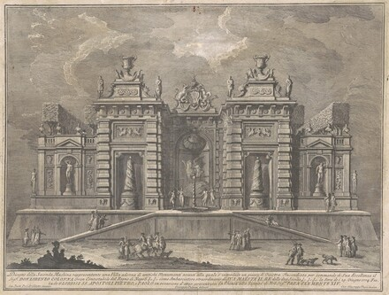 The Seconda Macchina for the Chinea of 1774: A Villa with Ancient Monuments and a Game of Giostra