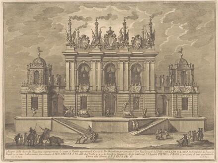 The Seconda Macchina for the Chinea of 1775: A Bull-fight