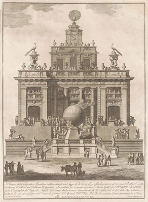 The Seconda Macchina for the Chinea of 1785: A Pleasure Palace with an Air Balloon