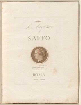 Le Avventure di Saffo (The Adventures of Sappho)