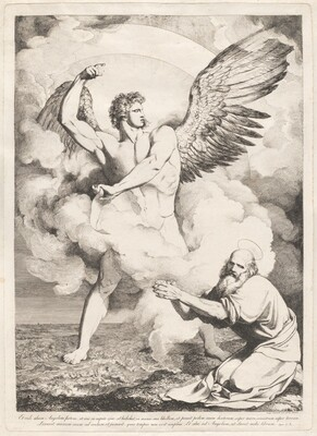 Et vidi alium angelum fortem... (The Angel of the Apocalypse Appearing to Saint John)