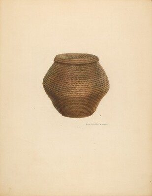Bee Basket and Cover