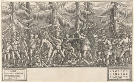 Battle of the Naked Men and Peasants